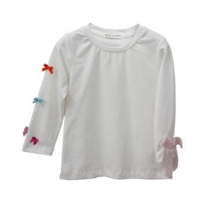 Μπλούζα με λεπτομέρεια πολύχρωμα φιογκάκια Two In A Castle