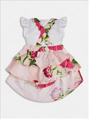 SET BODY DRESS FLORAL BABY GIRL GUESS