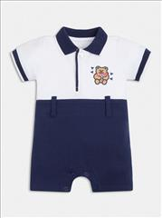 OVERALL POLO SHORT BABY BOY GUESS