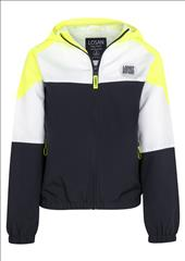 ATHLETIC WIND PROOF JACKET WITH FLUO DETAIL BOY LOSAN