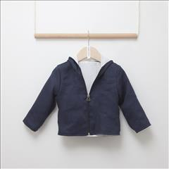 JACKET CANVA NAVY BLUE BEBE TWO IN A CASTLE
