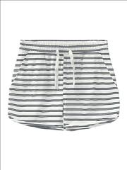SHORT COTTON STRIPPED 2CLRS GIRL NAME IT