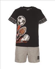SET T-SHIRT-SHORT FOOTBALL 2CLRS BABY BOY SPRINT