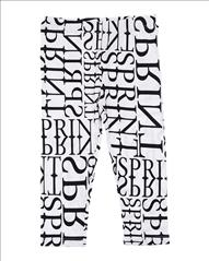 LEGGING 3/4 LETTERS GIRL SPRINT