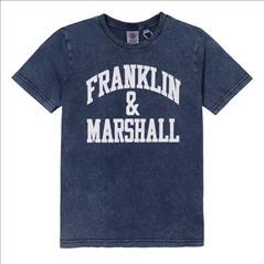 T-SHIRT K/M 4CLRS BOY FRANKLIN & MARSHALL