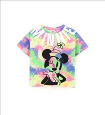 T-SHIRT MINNIE TIE DYE ORIG.MARINES