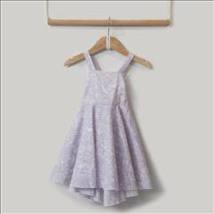 DRESS LILAC GIRL TWO IN A CASTLE