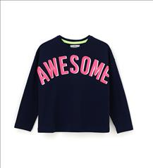 T-SHIRT 3CLRS M/M AWESOME GIRL ORIG.MARINES