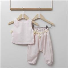 SET TOP-LOOSE PANTS BEBE LIGHT PINK TWO IN A CASTLE