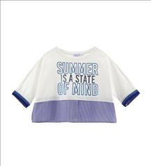 CROPP TOP SUMMER GIRL ORIG.MARINES