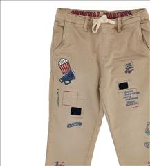 TROUSER STICKERS 2COL. BOY  ORIG.MARINES