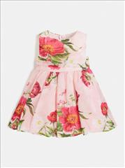 DRESS FLORAL MOUSELIN GIRL GUESS