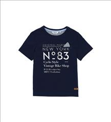 T-SHIRT K/M NEW YORK 2CLRS BOY ORIG.MARINES