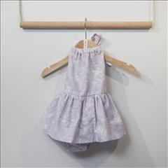 BODY-DRESS LILAC BEBE TWO IN A CASTLE