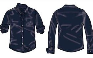 SHIRT M/M NAVY BOY GUESS