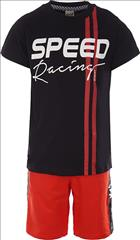SET T-SHIRT-VERMOUDA SPEED BOY SPRINT