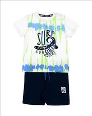 SET T-SHIRT-SHORT SURF DAYS 2XR BABY BOY SPRINT