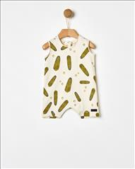 OVERALL CORNS ALLOVER PRINTED BABY YELL-OH