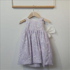 DRESS LILAC BEBE TWO IN A CASTLE