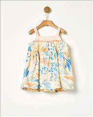 DRESS PRINTED EMPRIME BABY YELL-OH
