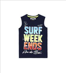 FLANEL 2CLRS BOY SURF WEEK ORIG.MARINES