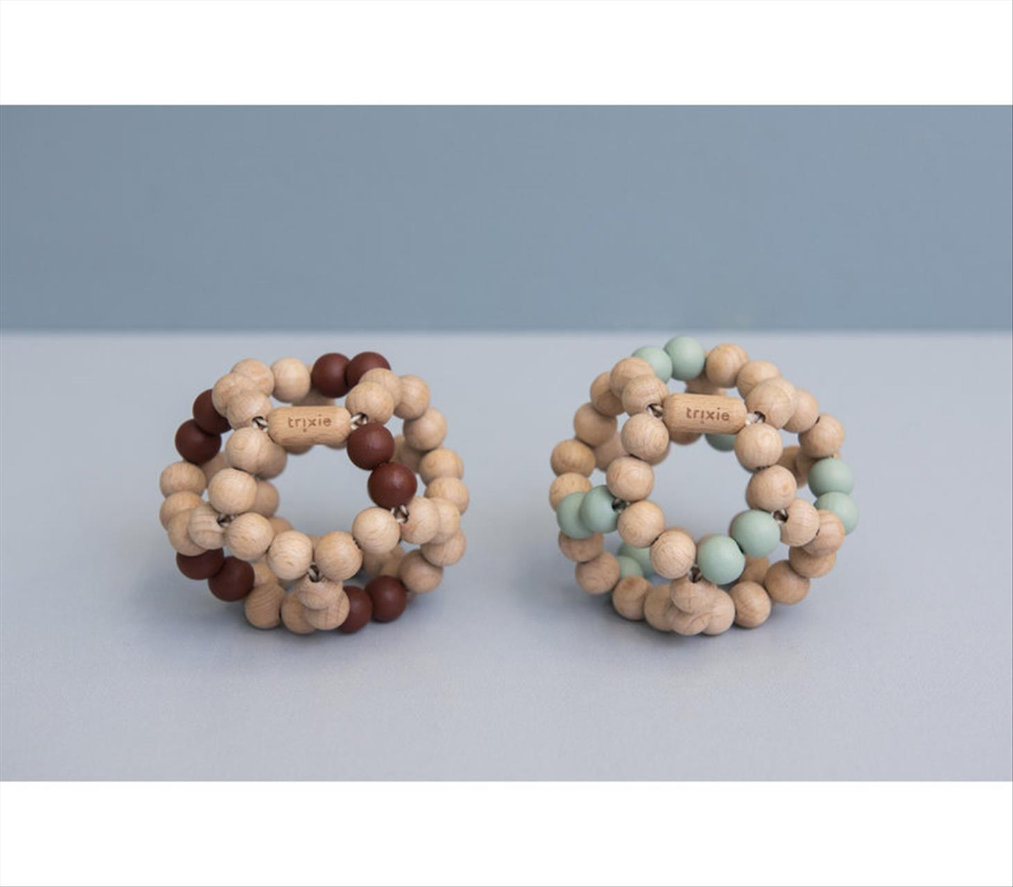 WOODEN BEADS BALL BY TRIXIE