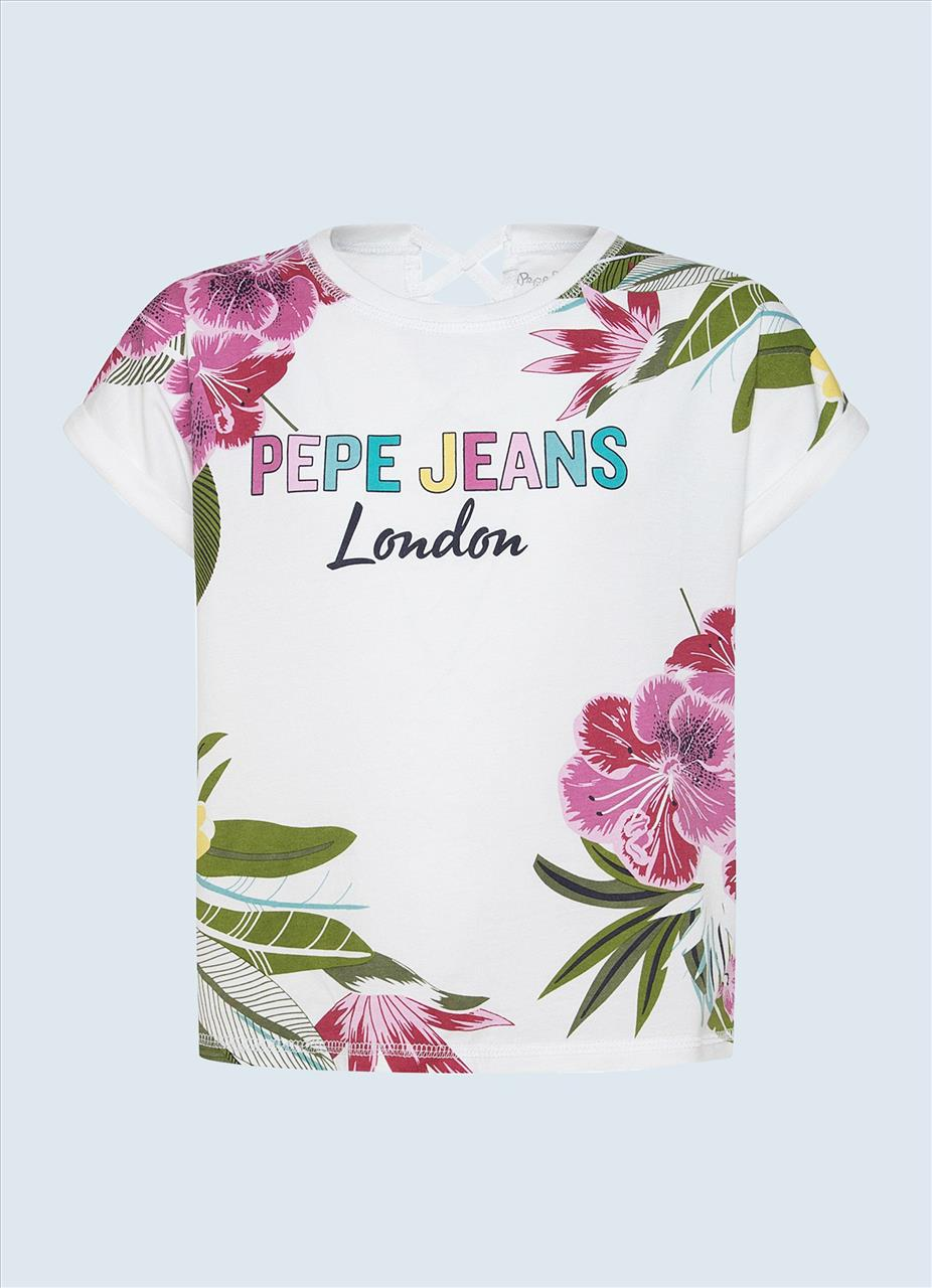 T-SHIRT FLORAL BY PEPE JEANS