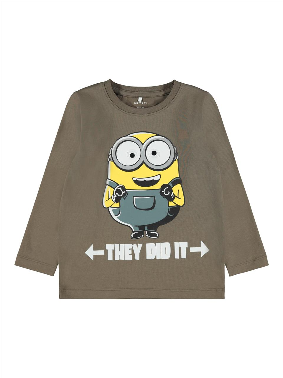 T-SHIRT M/M MINNIONS BY NAME IT