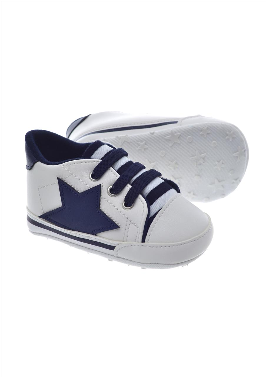 SNEAKERS WHT NEW BORN BY EMC
