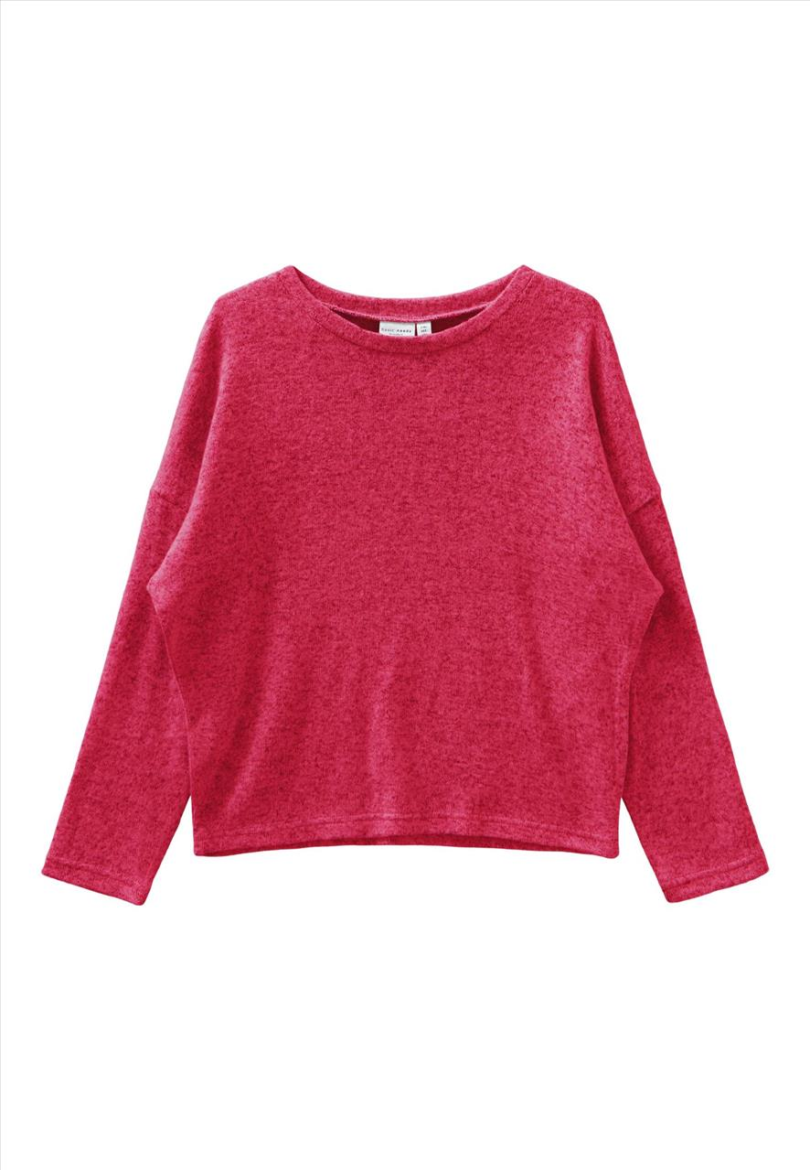 POULOVER FOUCHSIA KNIT BY NAME IT
