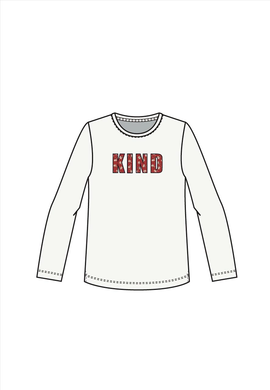 T-SHIRT M/M 2COL. *KIND BY NAME IT
