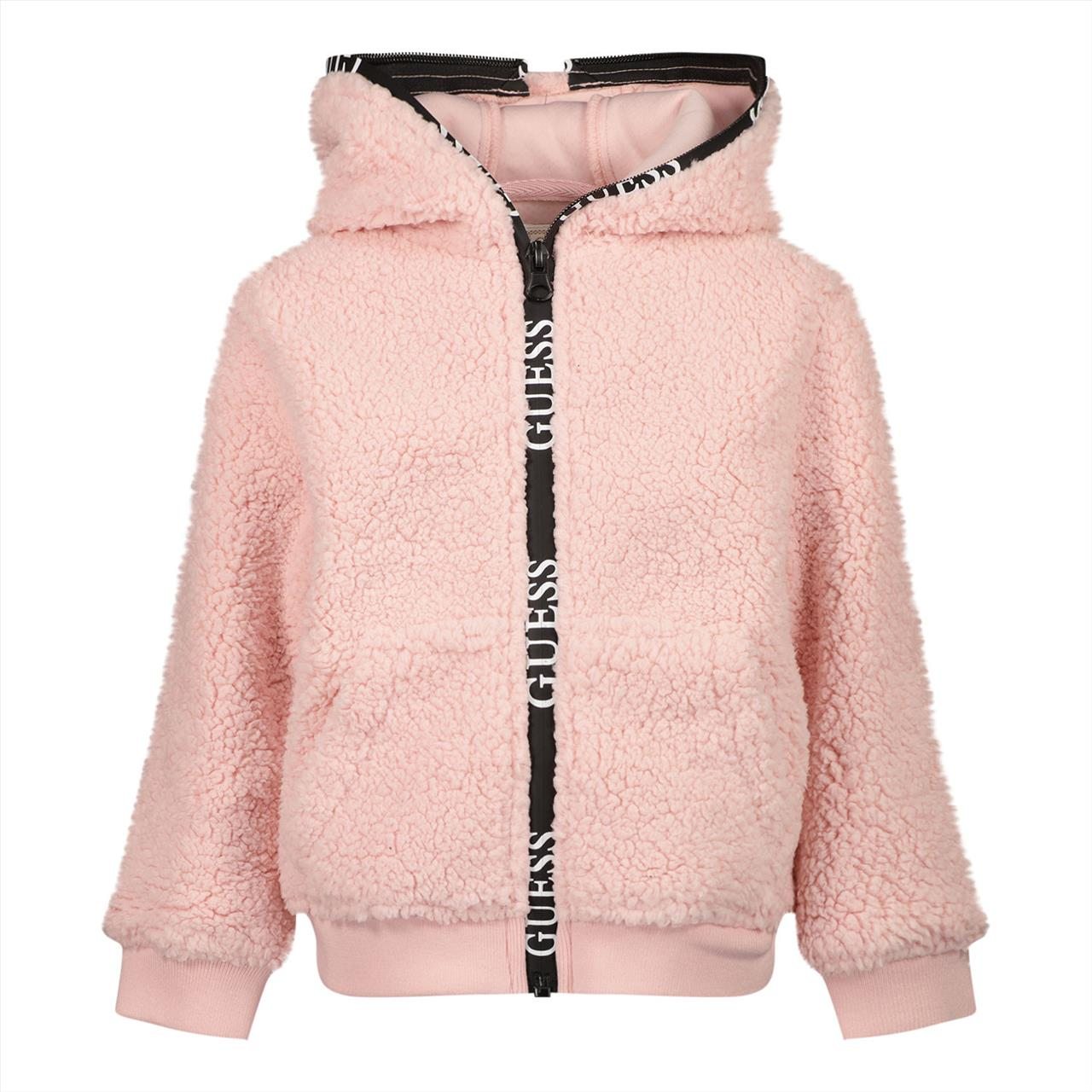 JACKET FLUFFY PINK GUESS
