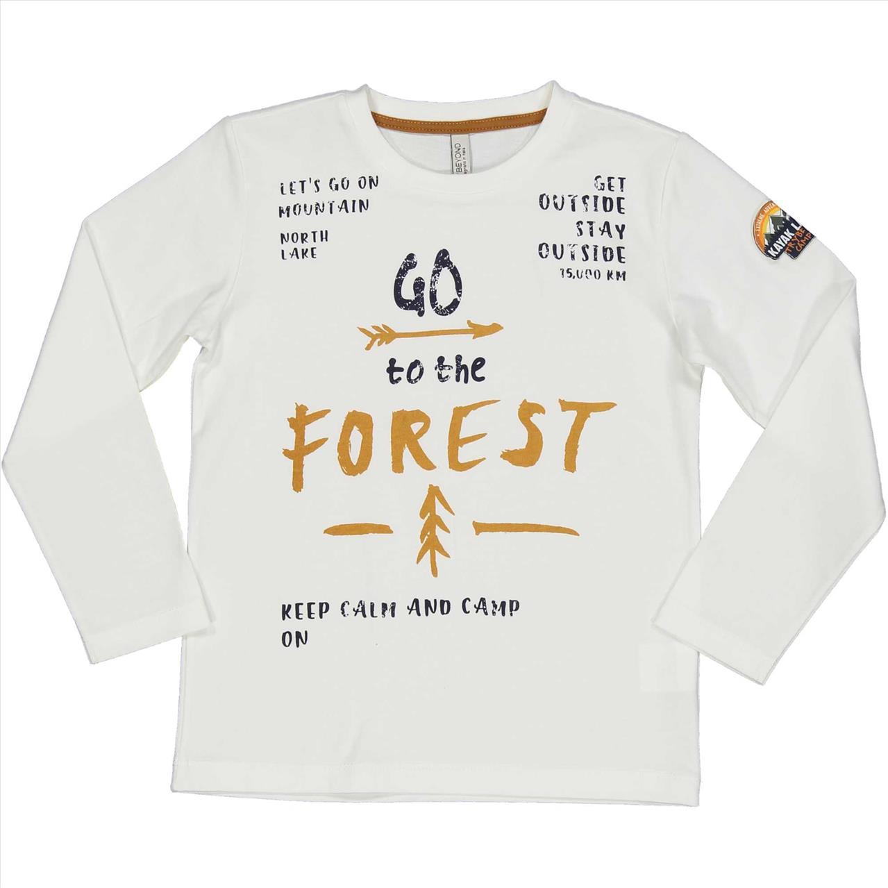 ΜΠΛΟΥΖΑ Μ/Μ *GO TO THE FOREST TRYBEYOND